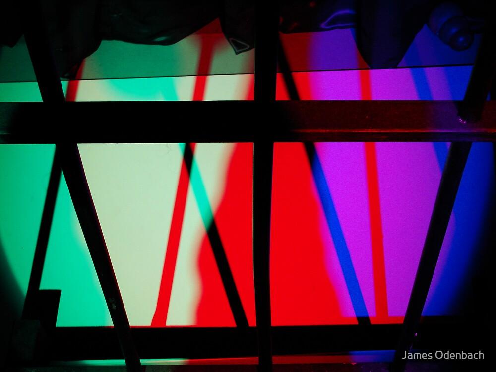 Light art - bars by James Odenbach
