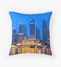Marina Bay, Singapore Throw Pillow