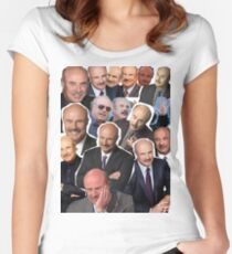 Dr Phil  Women's Fitted Scoop T-Shirt
