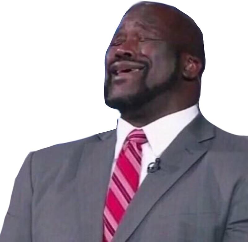 """Shaq Singing Meme"" Stickers by DaniDen   Redbubble"