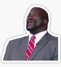 Shaq Singing Meme Sticker