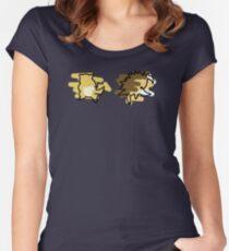 Sandshrew, Sandslash Women's Fitted Scoop T-Shirt