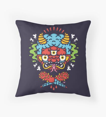 ONI! Throw Pillow