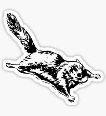 Flying Sugar Glider Sticker