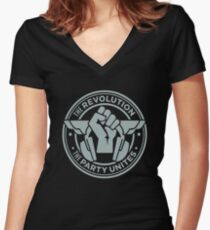 dj carl cox Women's Fitted V-Neck T-Shirt