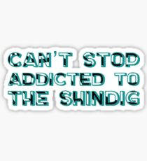Can't Stop - Red Hot Chili Peppers Sticker