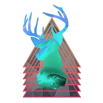 Thermal Deer by warddt