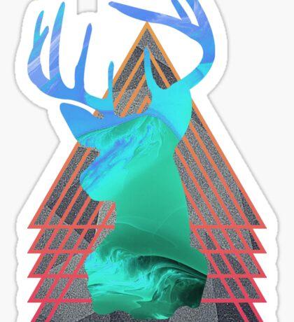 Thermal Deer Sticker