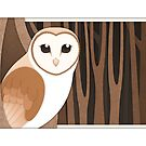 Barn Owl  by Diony  Rouse