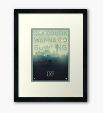 The Fourth Framed Print