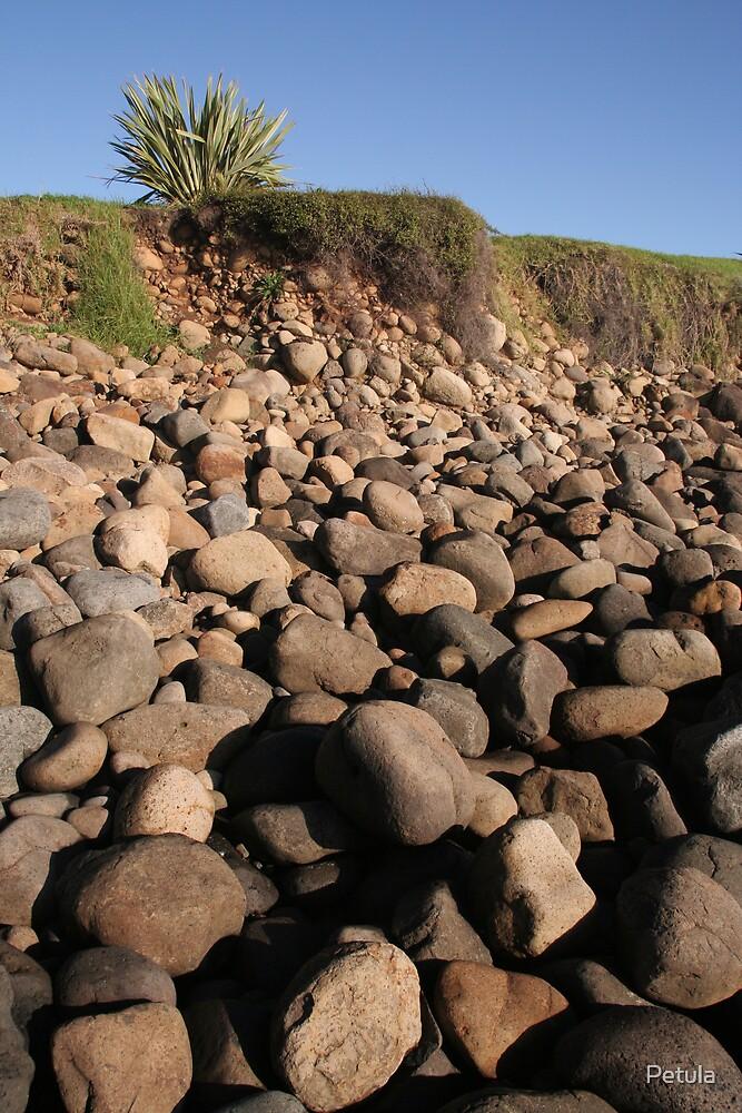 Beauty of rocks by Petula
