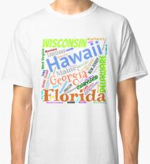 Fifty States of America Classic T-Shirt
