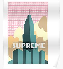supreme ny Poster