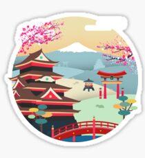 TOKYO, JAPAN!!! Sticker