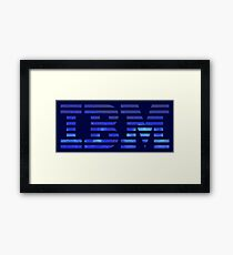 IBM Space Framed Print