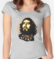 russell brand II Women's Fitted Scoop T-Shirt