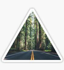 Forest Road 3 Sticker