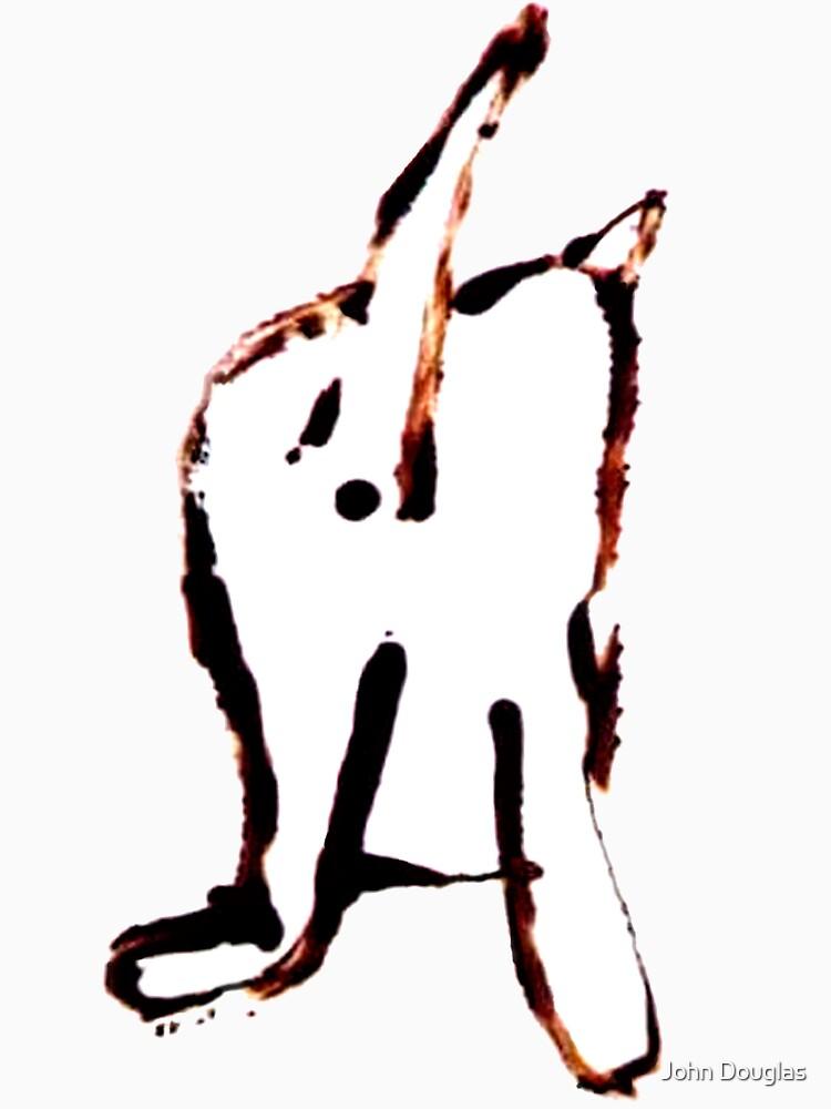 Scat, Cat! 4 large by JohnDouglas