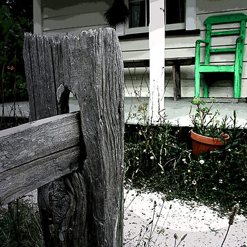 Green chair by sellitnow