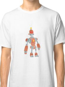brown robot with lamp head Classic T-Shirt