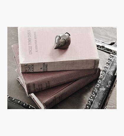 Novel Work Photographic Print