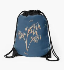 Wildflowers Cereal Drawstring Bag