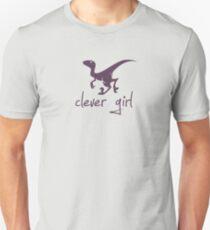 Clever Girl Dinosaur Velociraptor T-Shirt