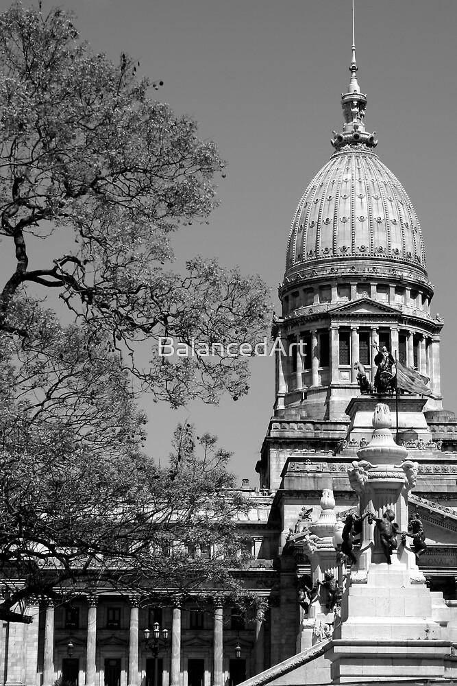 Argentine National Congress by BalancedArt