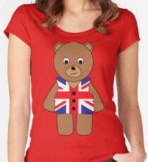 British Bear Women's Fitted Scoop T-Shirt