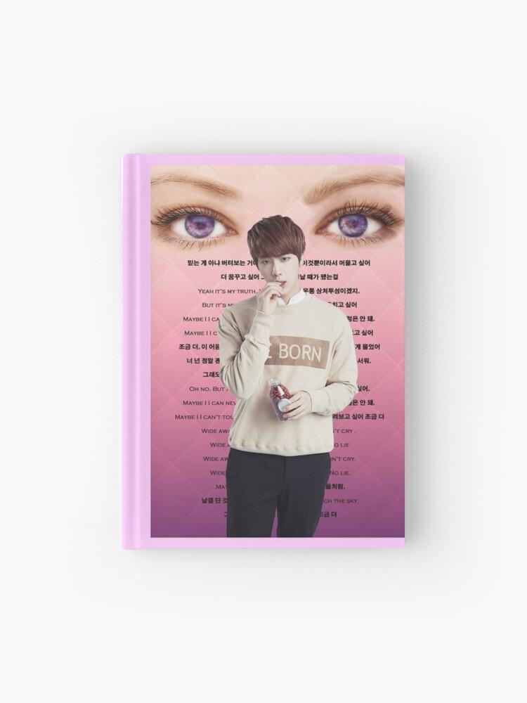 BTS- Jin- Awake Lyrics | Hardcover Journal