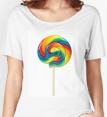 Lollipop Candy Shop Women's Relaxed Fit T-Shirt