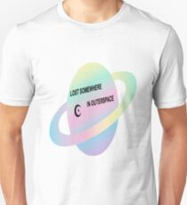 LOST SOMEWHERE IN SPACE  Unisex T-Shirt