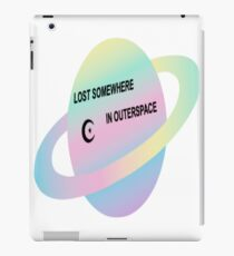 LOST SOMEWHERE IN SPACE  iPad Case/Skin