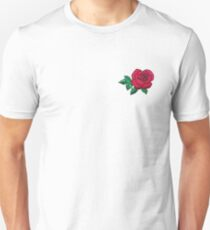 Embroidered Rose Unisex T-Shirt