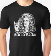 Science Rocks Isaac Newton Unisex T-Shirt