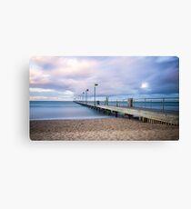 Sunrise at Frankston Pier Canvas Print