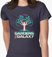 Gardens Of The Galaxy Womens Fitted T-Shirt