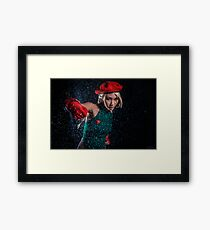 Cammy Street Fighter Framed Print