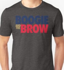 Boogie And The Brow (Blue/Gold/Red) T-Shirt