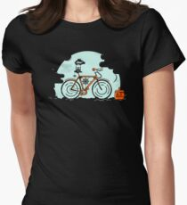 Fixed Gear Hipster Womens Fitted T-Shirt