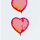 heart shaped balloons for love by spetenfia