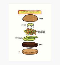 Bobs burgers-  Art Print