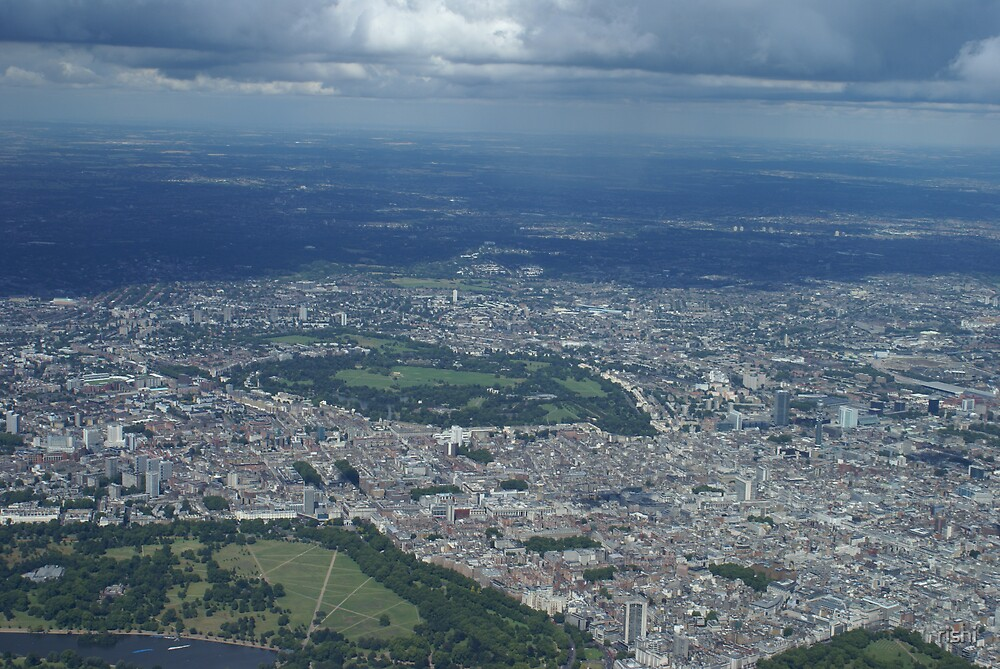 london under the shadow of clouds by rishi