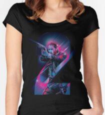 john wick season 2 Women's Fitted Scoop T-Shirt