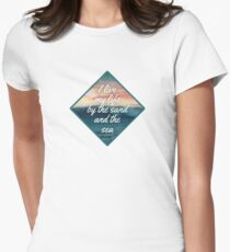 Sand and Sea 2 Womens Fitted T-Shirt