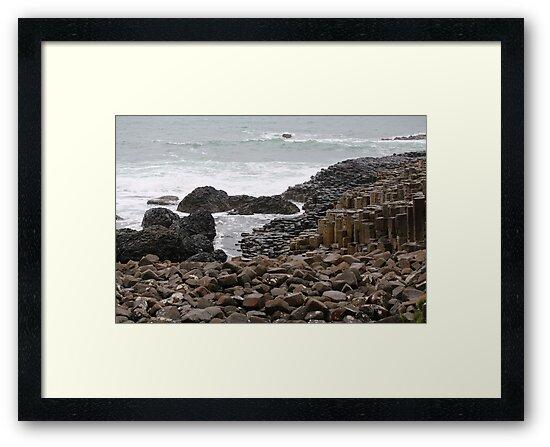 Giant's Causeway County Antrim Ireland by Ren Provo