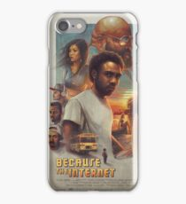 because the internet poster iPhone Case/Skin