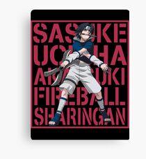 Sasuke Uchiha  Canvas Print