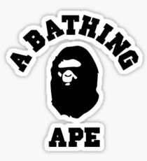 A Bathing Ape Sticker