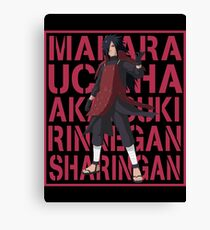 Madara Uchiha Canvas Print